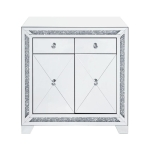 [US Warehouse] Tempered Glass Storage Cabinet, Size: 32x16x32 inch