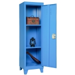 [US Warehouse] Kids Bedroom Storage Locker with 2 Adjustable Shelves, Size: 38 x 38 x 137cm(Blue)