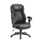 [US Warehouse] Home Office PU Leather High Back Office Chair Ergonomic Computer Chair