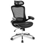 [US Warehouse] Ergonomic Mesh Adjustable Home Desk Office Chair