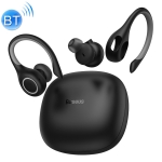 Baseus W17 Encok Bluetooth 5.0 Hanging Ear Style True Wireless Bluetooth Earphone with Charging Box (Black)