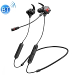 LP-BT88 Bluetooth Wire-Controlled HIFI Earphones Video Game Mobile Game Headset With Mic