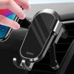 WIWU PL400 Lightweight Design Mini Car Gravity Mobile Phone Holder Bracket