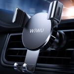 WIWU PL500 Lightweight Design Mini Car Gravity Mobile Phone Holder Bracket