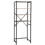 [JPN Warehouse] Household Kitchen Storage Rack Shelf (Wood Color)