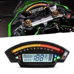Speedpark Motorcycle LCD TFT Digital Speedometer 14000RPM 6 Gear Backlight Motorcycle Odometer for 1,2,4 Cylinders Meter