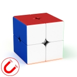 Moyu Meilong Magnetic Speed Magic Cube Two Layers Cube Puzzle Toys