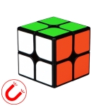 Moyu QIYI M Series Magnetic Speed Magic Cube Two Layers Cube Puzzle Toys (Black)