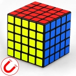 Moyu Mr. M Series Magnetic Cube Twisty Puzzle Toy Five Layers Cube Puzzle Toys (Black)