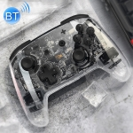 For Switch Pro / Lite Wireless Bluetooth GamePad Game Handle Controller (Transparent)