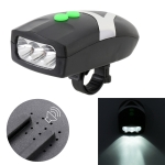Mountain Bike Headlight Horn LED Flashlight Bicycle Electric Horn, with Light