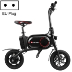 [EU Warehouse] CS-P01 350W Foldable Dual-disc 12 inch 36V Mini Portable Electric Bicycle, Max Speed: 25km/h