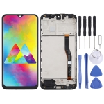TFT Material LCD Screen and Digitizer Full Assembly With Frame for Samsung Galaxy M20 (Black)