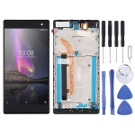 LCD Screen and Digitizer Full Assembly With Frame for Lenovo Phab2 Pro / PB2-690M / PB2-690Y(Black)