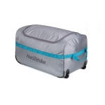 Naturehike NH18X027-M Foldable Storage Bag Waterproof Outdoor Travel Luggage Tent Camping Equipment Large Portable Sundries Bag, Size:L(Grey)