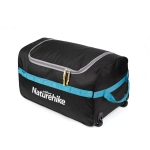 Naturehike NH18X027-M Foldable Storage Bag Waterproof Outdoor Travel Luggage Tent Camping Equipment Large Portable Sundries Bag, Size:L(Black)