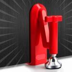 Locks Self-Defense Door Stop Travel Accommodation Door Stopper Door Lock Security Device, Style:Door Stop