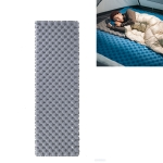 Naturehike NH19QD009 Outdoor Double Airbag Inflatable Mattress Moisture-proof Mat Camping Tent Sleeping Mat, Style:Without Inflatable Bag(Titanium Gray)