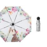 Five-fold Capsule Titanium Silver Umbrella Sun Protection and UV Protection Sun Umbrella(Hedgehog)