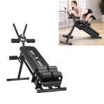Abdominal Muscle Fitness Equipment Lazy People Sit-ups Abdomen Fitness Equipment(Black)