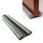 5 PCS Door Gap Sealing & Sound Insulation Strip Door & Window Gap Wind-proof & Warm-keeping Paste Dust-proof Tape(Black)