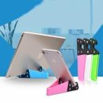 20 PCS V-shaped Portable Mobile Phone Tablet Universal Stand Lazy Desktop Stand, Random Color Delivery