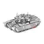 2 PCS 3D Metal Assembled Tank Model DIY Puzzle, Style: Chief Tank