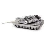 2 PCS 3D Metal Assembled Tank Model DIY Puzzle, Style: M1 Abram Tank