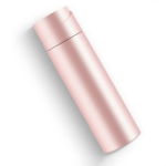 Intelligent Display Temperature Drinking Water Reminder UV Sterilization Thermos Cup(Pink)