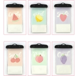 10 PCS Outdoor Diving Swimming Creative Cartoon Touch Screen Transparent PVC Mobile Phone Waterproof Bag Color Random Delivery