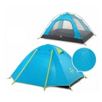 Naturehike Tent Outdoor Rainstorm-proof Thickened Beach Seaside Camping Equipment, Style:2 People(Sea Blue)