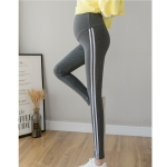 Autumn Leggings For Pregnant Women (Color:Dark Gray Size:M)