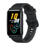 HUAWEI Honor ES Fitness Tracker Smart Watch, 1.64 inch Screen, Support Exercise Recording, Heart Rate / Sleep / Blood Oxygen Monitoring, Female Physiological Cycle Recording(Black)