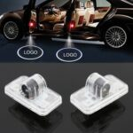 2 PCS LED Car Door Welcome Logo Car Brand 3D Shadow Lights for Nissan Murano 2011-2013