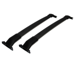 [US Warehouse] 2 PCS Car Roof Rack Cross Luggage Box Travel Luggage Holder for 2011-2015 Ford Explorer