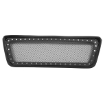 [US Warehouse] ABS Stainless Steel Coating Car Front Bumper Grille for 2004-2008 Ford F-150