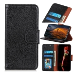 For OPPO Reno3 A(JP Version) Nappa Texture Horizontal Flip Leather Case with Holder & Card Slots & Wallet(Black)
