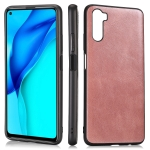 For Huawei Maimang 9 / Mate 40 Lite Crazy Horse Textured Calfskin PU+PC+TPU Case(Rose Gold)