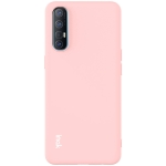 For OPPO Reno3 Pro (Overseas 4G Version) IMAK UC-2 Series Shockproof Full Coverage Soft TPU Case(Pink)