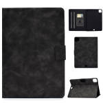 For iPad Air 2020 10.9 Cowhide Texture Horizontal Flip Leather Case with Holder & Card Slots & Sleep / Wake-up(Grey)