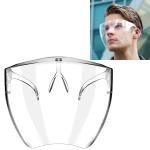 Anti-Saliva Splash Anti-Spitting Anti-Fog Face Shield Outdoor Cycling Clear Sunscreen Sunglasses