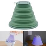 WT-K1 Folding Silicone UV Light Disinfection Sterilizer (Green)