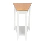 [US Warehouse] Simple Irregular Sofa Side Table, Size: 20.3-40x 60x 61cm
