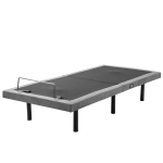 [US Warehouse] Adjustable Ergonomic Double Bed, with Vibration Massage Function & 1A / 2A USB Port & Wireless Remote Control & LED Night Light
