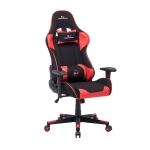 [UK Warehouse] SJ Office Rotatable Lifting Adjustable Chair Reclining Chair Game Chair PU Leather Office Chair with Armrests, Seat Size: 54 x 50cm, Height: 125-135cm