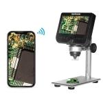 inskam317 1080P 4.3 inch LCD Screen WiFi HD Digital Microscope, Metal Bracket