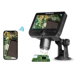 inskam317 1080P 4.3 inch LCD Screen WiFi HD Digital Microscope, Sucker Bracket