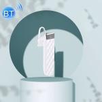 USAMS US-BT001 Bluletooth 5.0 Single Ear Wireless Bluetooth Earphone(White)