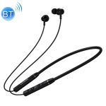 Original Lenovo QE03 Bluetooth 5.0 Neck-mounted Wireless Sports Bluetooth Earphone with Magnetic & Wire Control Function (Black)