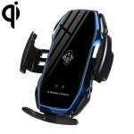 FLOVEME 10W Car Infrared Wireless Mobile Auto-sensing Phone Charger Holder, Interface:USB-C / Type-C (Blue)